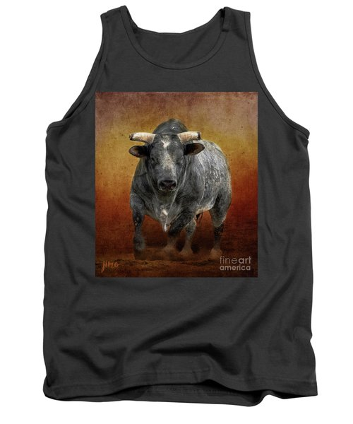 The Bull Tank Top by Jim  Hatch