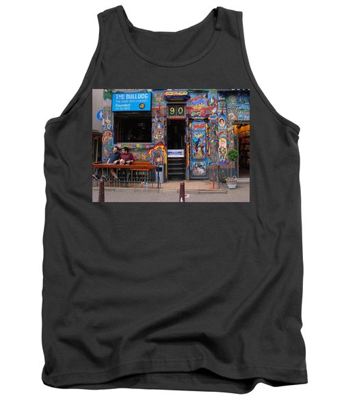 The Bulldog Of Amsterdam Tank Top by Allen Beatty
