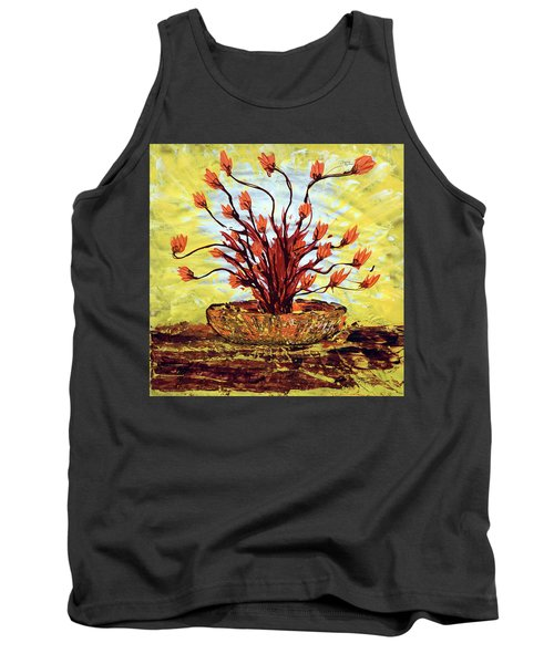 Tank Top featuring the painting The Burning Bush by J R Seymour