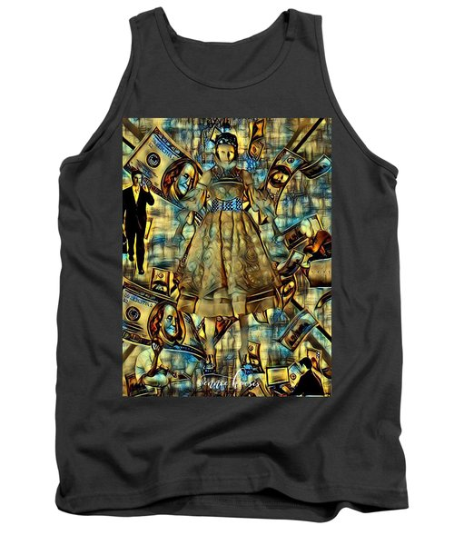 The Business Of Humans Tank Top by Vennie Kocsis