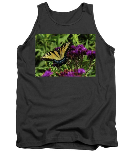 Tank Top featuring the photograph The Butterfly Buffet by J L Zarek