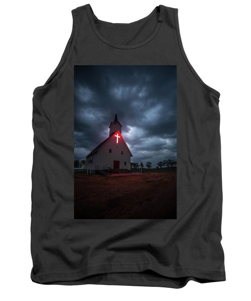 Tank Top featuring the photograph The Calling by Aaron J Groen
