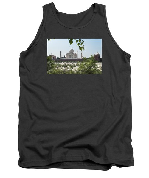 The Calm Behind The Taj Mahal Tank Top