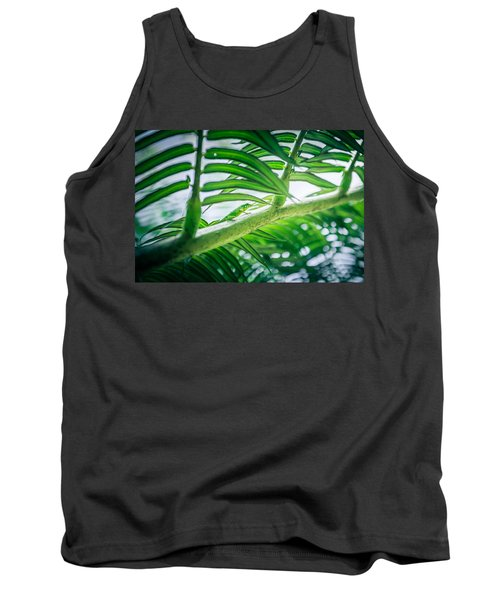 The Camouflaged Tank Top