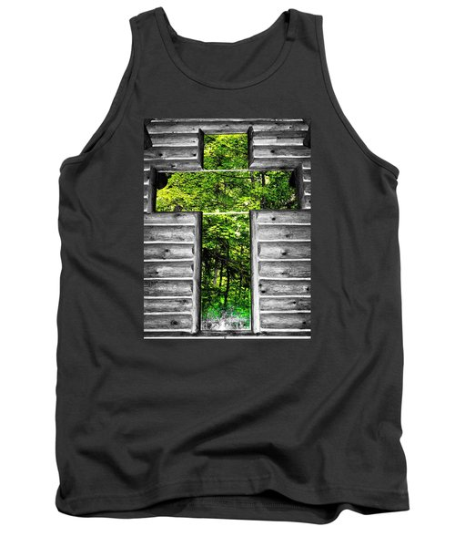 The Carpenters Cross Tank Top