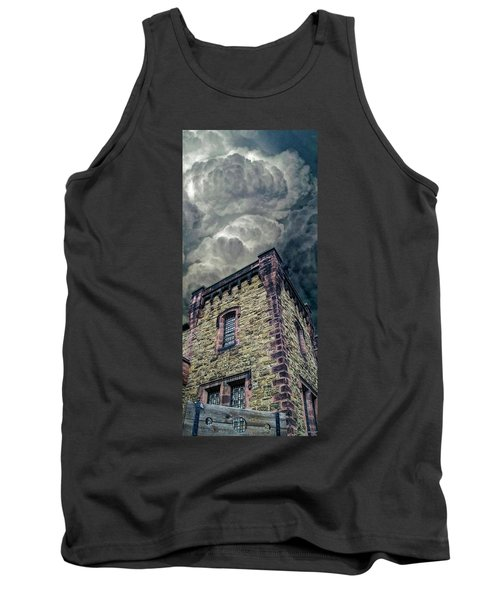 Tank Top featuring the photograph The Cell Block Restaurant by Greg Reed