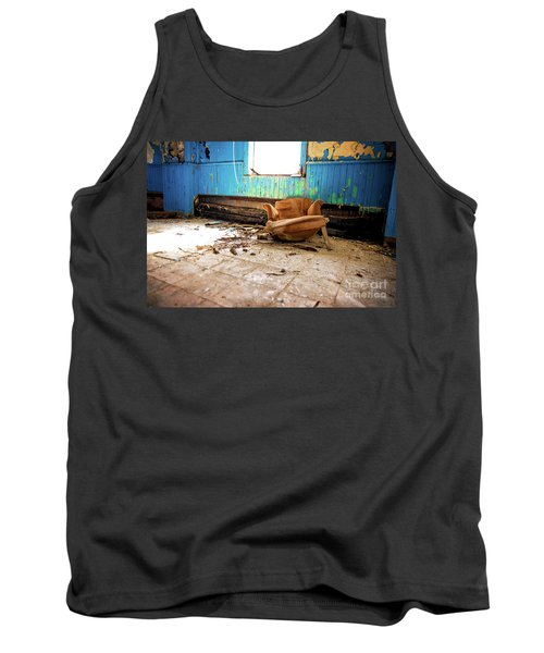 Tank Top featuring the photograph The Chair by Randall Cogle