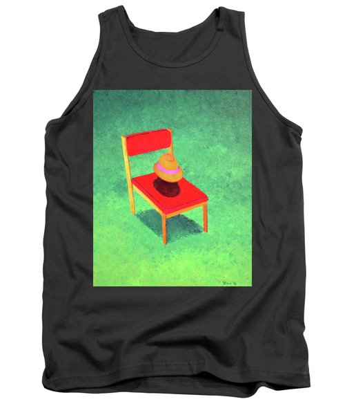 The Chat Tank Top by Thomas Blood