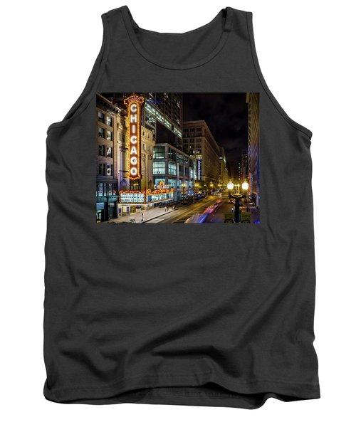 Illinois - The Chicago Theater Tank Top