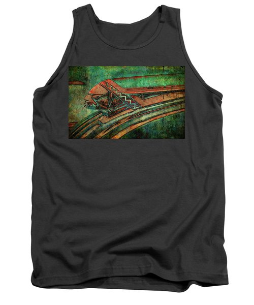 Tank Top featuring the digital art The Chief by Greg Sharpe