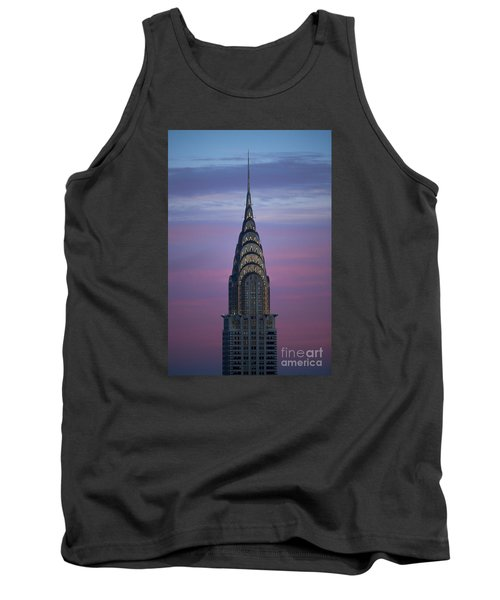 The Chrysler Building At Dusk Tank Top by Diane Diederich
