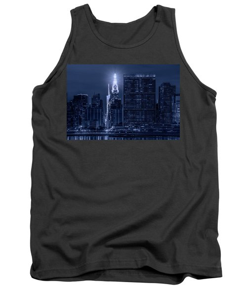 Tank Top featuring the photograph The Chrysler Star by Theodore Jones