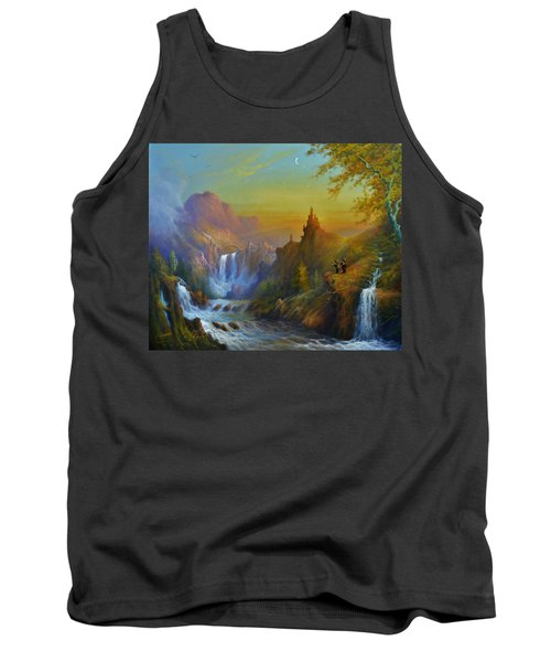 The Citadel Under The Moon Tank Top