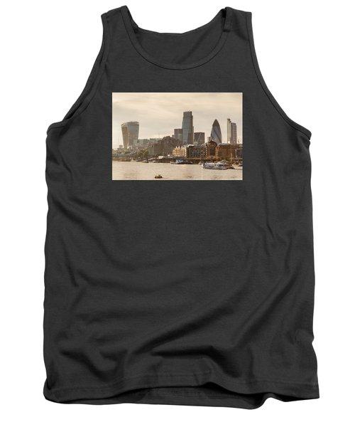 The City At Dusk Tank Top