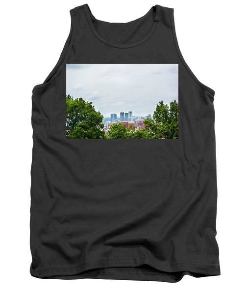 Tank Top featuring the photograph The City Beyond by Shelby Young