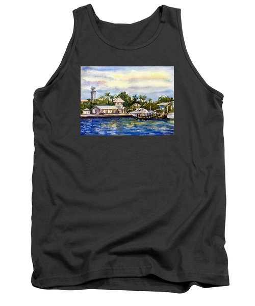 The Coast Of Nassau Tank Top