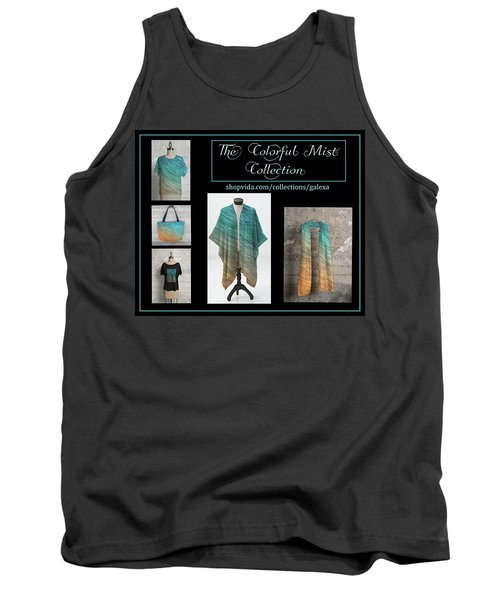 The Colorful Mist Collection Tank Top by Geraldine Alexander