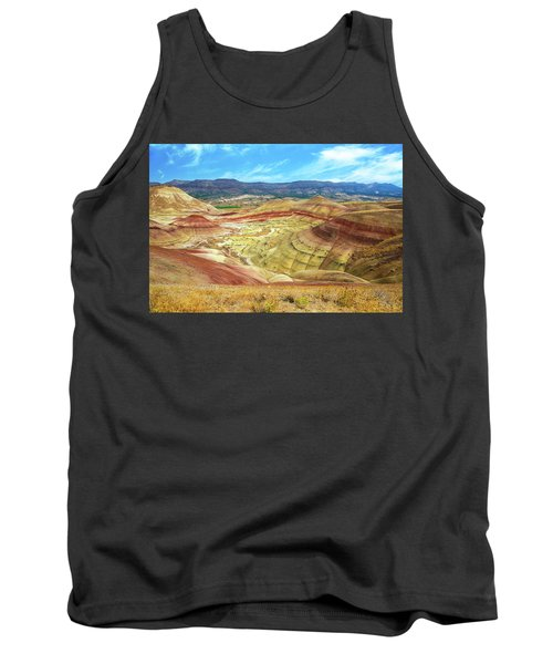 The Colorful Painted Hills In Eastern Oregon Tank Top