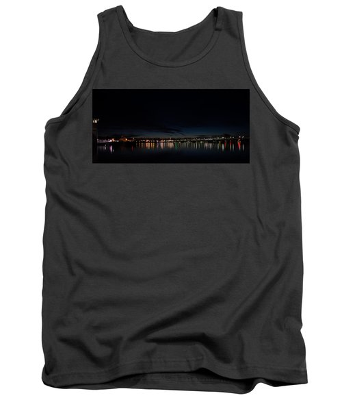 The Colors Of A Nightly Bridge Tank Top