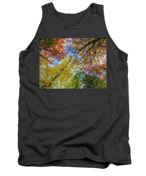 The Colors Of Autumn Tank Top