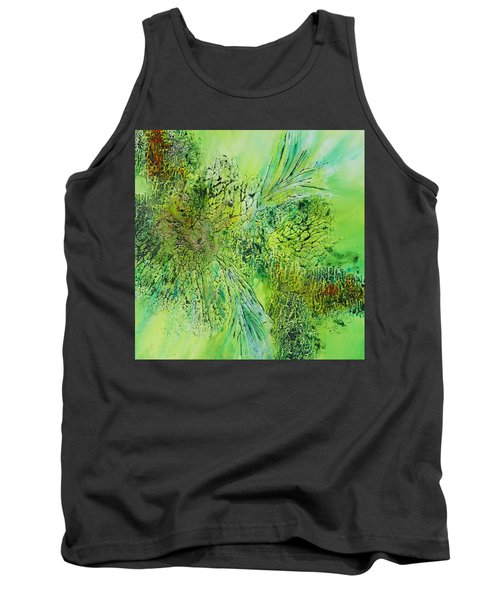 Abstract Art - The Colors Of Spring Tank Top
