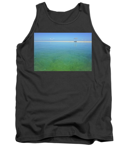 The Colours Of Paradise On A Summer Day Tank Top