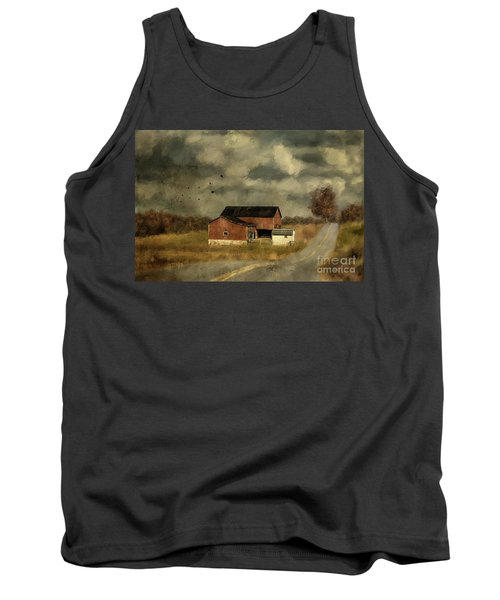 The Coming On Of Winter Tank Top by Lois Bryan