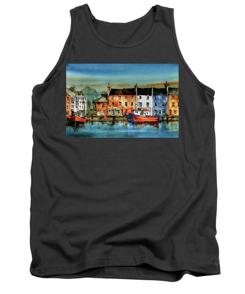 The Commercial Docks, Galway Citie Tank Top
