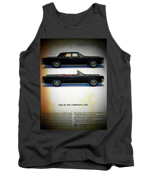 The Complete Line Tank Top by John Schneider