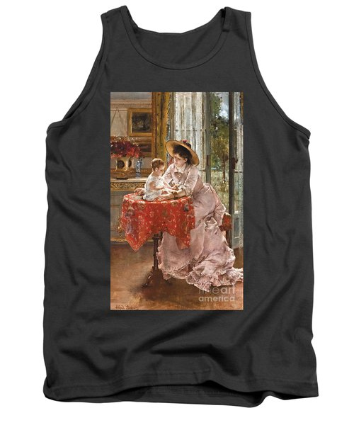 The Contented Mother Tank Top