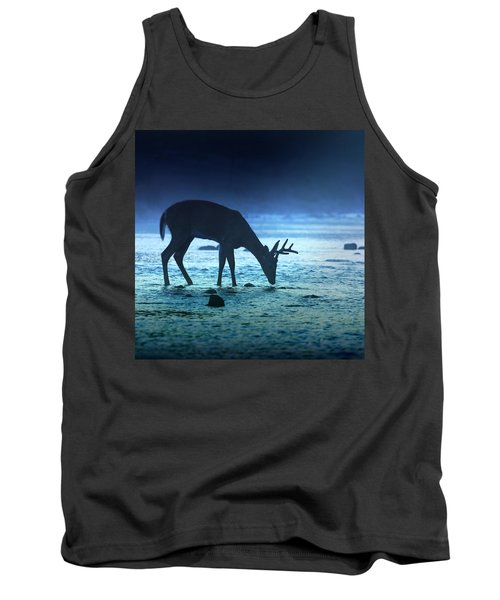 The Cool Of The Night - Square Tank Top by Rob Blair