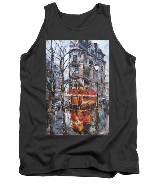 The Corner Cafe Tank Top