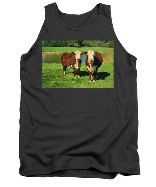 The Cow Girls Tank Top by Sandi OReilly
