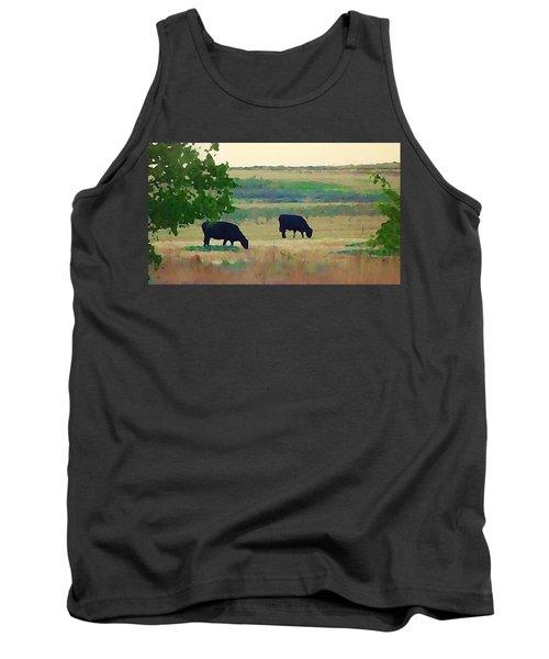 The Cows Next Door Tank Top