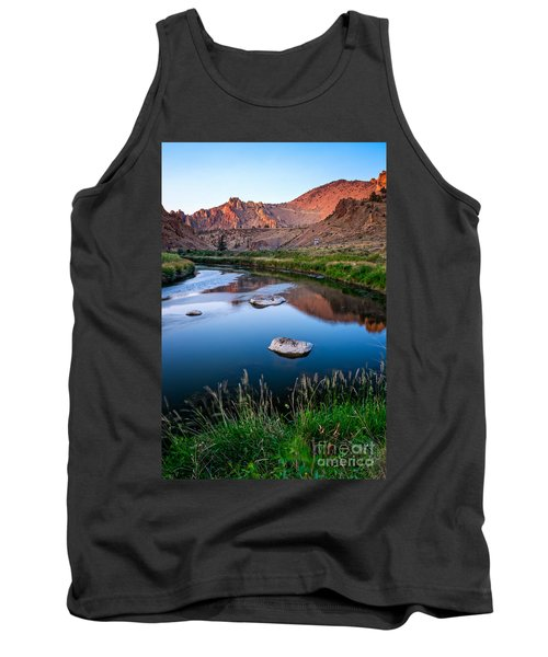 The Crooked River Runs Through Smith Rock State Park  Tank Top