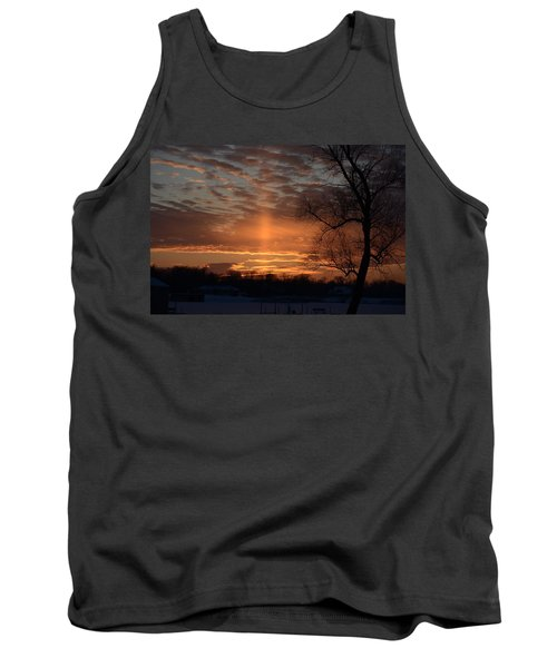 The Cross In The Sunset Tank Top