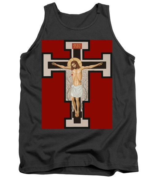 The Crucified Lord 017 Tank Top by William Hart McNichols