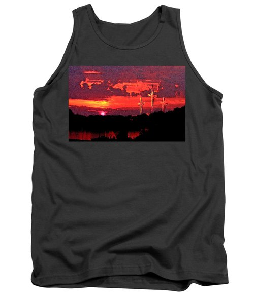 The Crucifixtion Tank Top