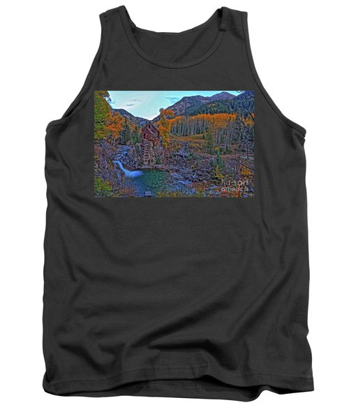 Tank Top featuring the photograph The Crystal Mill by Scott Mahon