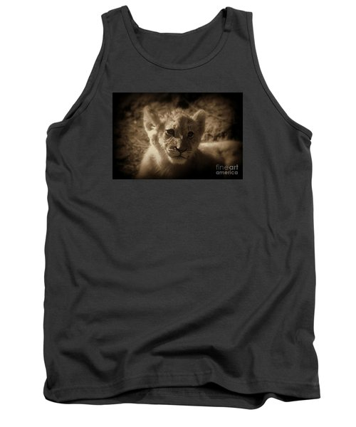 Tank Top featuring the photograph The Cub by Lisa L Silva