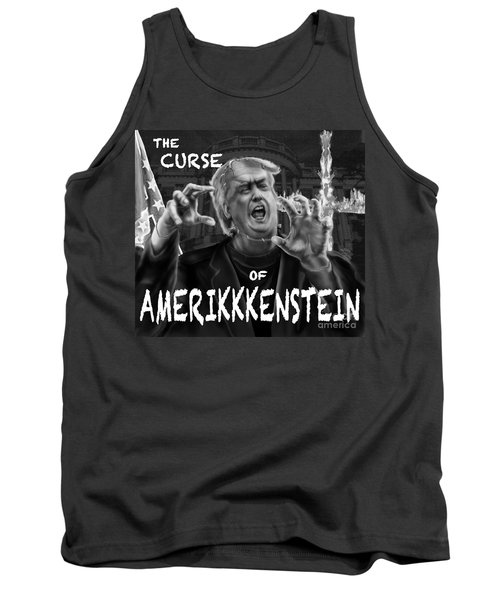 The Curse Of Amerikkenstein Tank Top