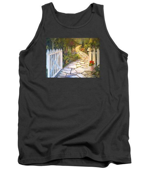 The Cutting Garden Tank Top by Alan Lakin