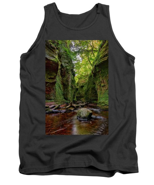 The Devil Pulpit At Finnich Glen Tank Top