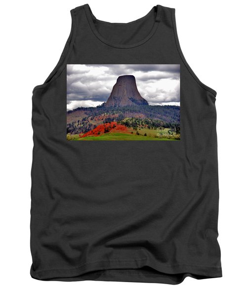 The Devils Tower Wy Tank Top