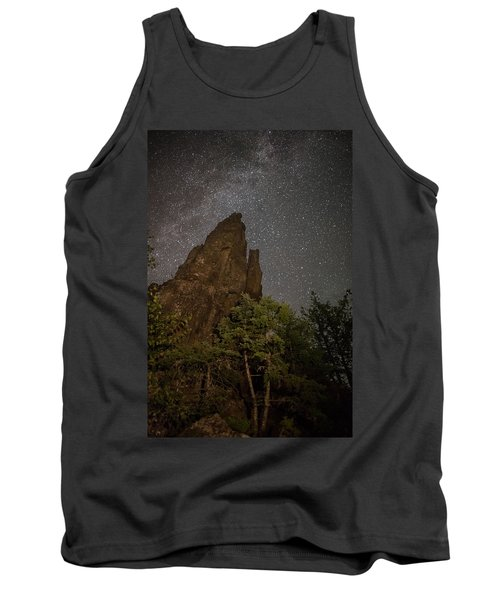 The Dorion Tower Light Painted Tank Top