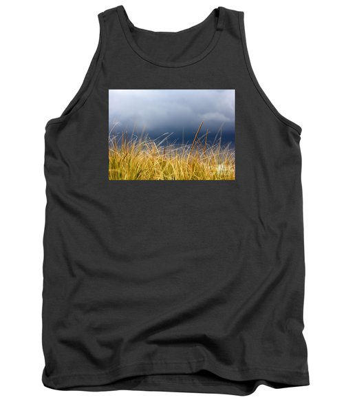 Tank Top featuring the photograph The Tall Grass Waves In The Wind by Dana DiPasquale
