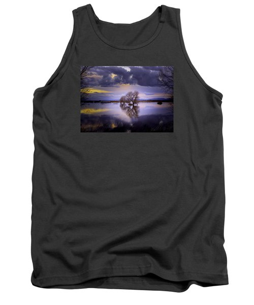 The Edge Of Sunset Tank Top