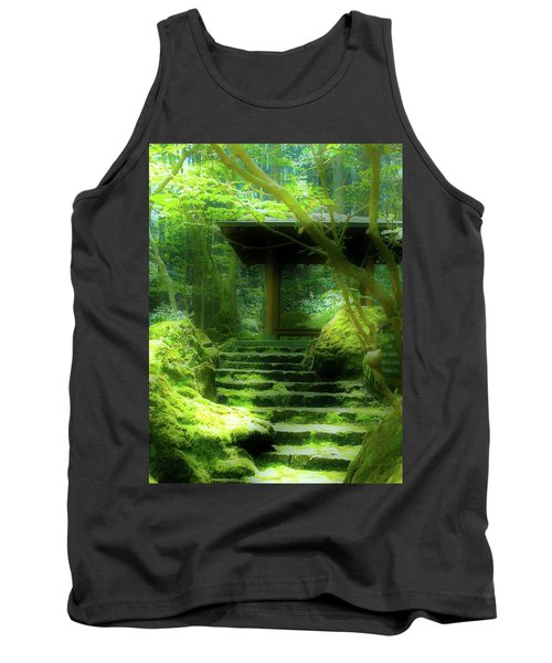 The Emerald Stairs Tank Top by Tim Ernst