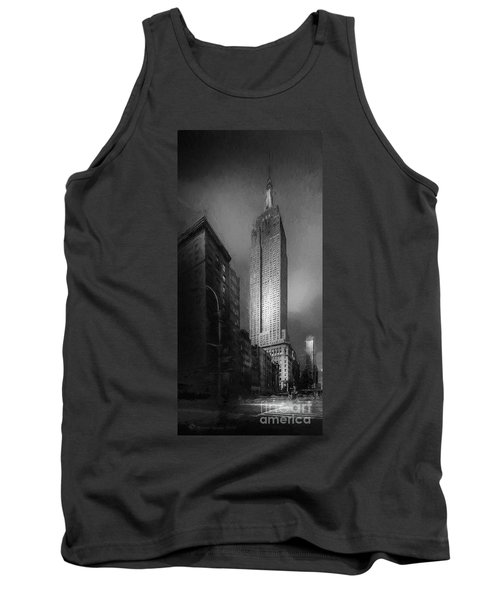 Tank Top featuring the photograph The Empire State Ch by Marvin Spates