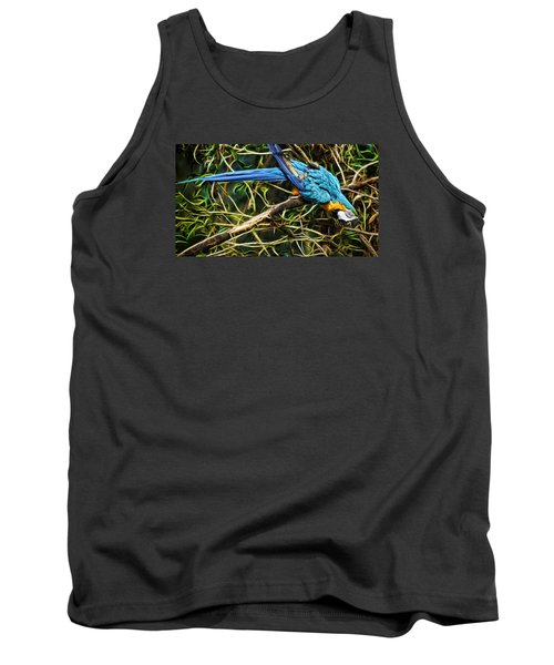 Tank Top featuring the photograph The Enchanted Forest by Cameron Wood